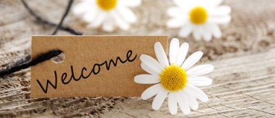 Welcome-Note-With-Flower